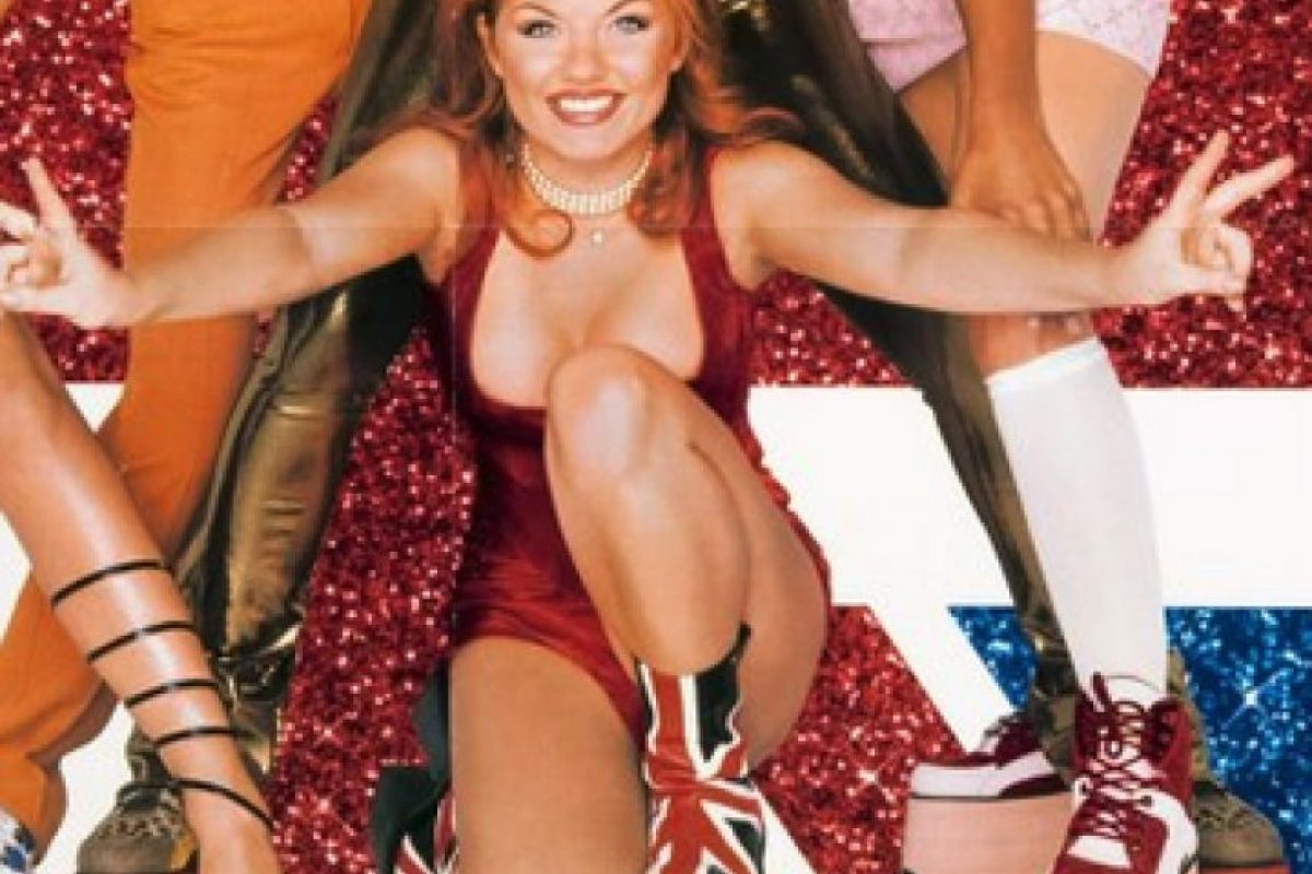 "1996, Geri Halliwell Foto: Facebook ""The Spice Girls"""