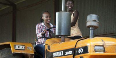 Ordeñar vacas: La prueba que sustituye al traje de baño en Miss Uganda 2014