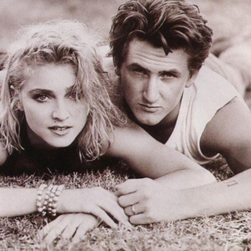 Durante su breve relación en los 80, Sean Penn y Madonna tuvieron varias peleas Foto:Vía Imugr