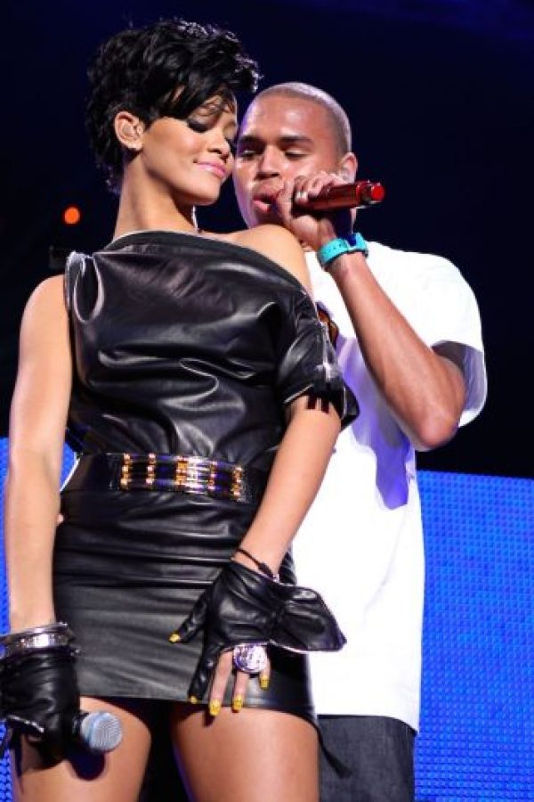 Chris Brown golpeó salvajemente a Rihanna hace unos cuantos años Foto:Getty