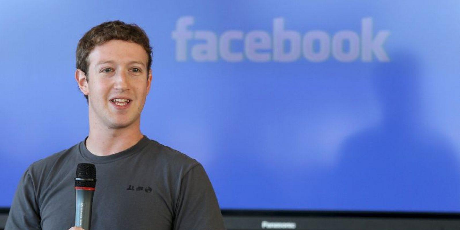 Es el CEO de la red social más utilizada en el mundo. Foto:Getty