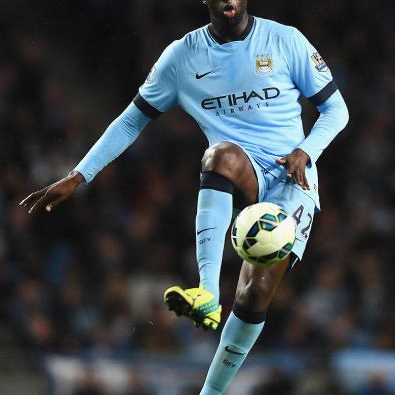 Touré Yaya tiene 31 años de edad. Foto:Getty Images