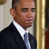 Barack Obama, igual que Zuckerberg, no pierde tiempo en escoger su vestimenta Foto:Getty