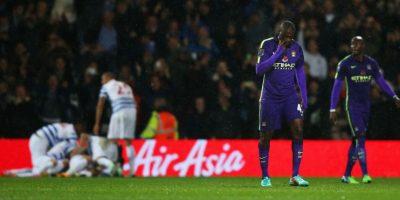 El Manchester City no pudo pasar del empate ante el Queens Park Rangers. Foto:Getty Images
