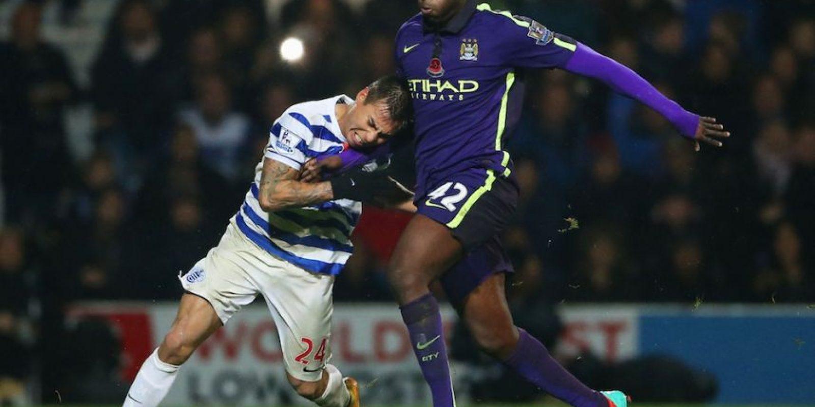 Yaya disputó el partido de este sábado con el Manchester City. Foto:Getty Images