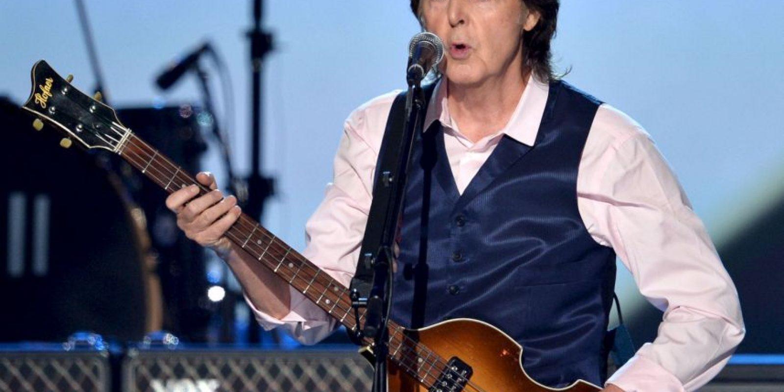 2. Paul McCartney Foto:Getty Images