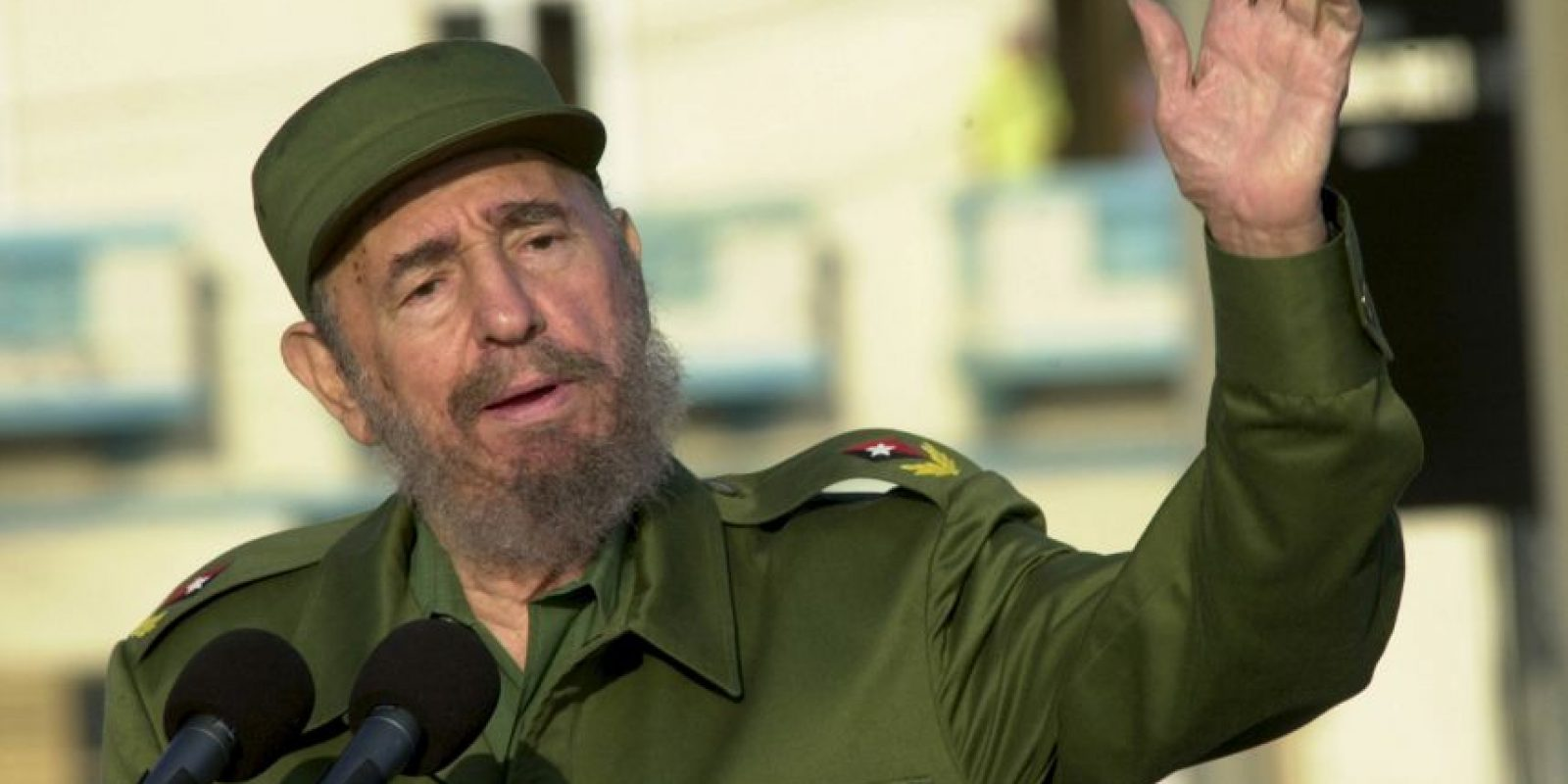 1. Fidel Castro Foto: Getty Images