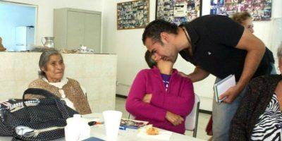 Estaba al pendiente de lo que pasaba con los ciudadanos. Foto:facebook.com/pages/Hugo-Sanchez-Portugal