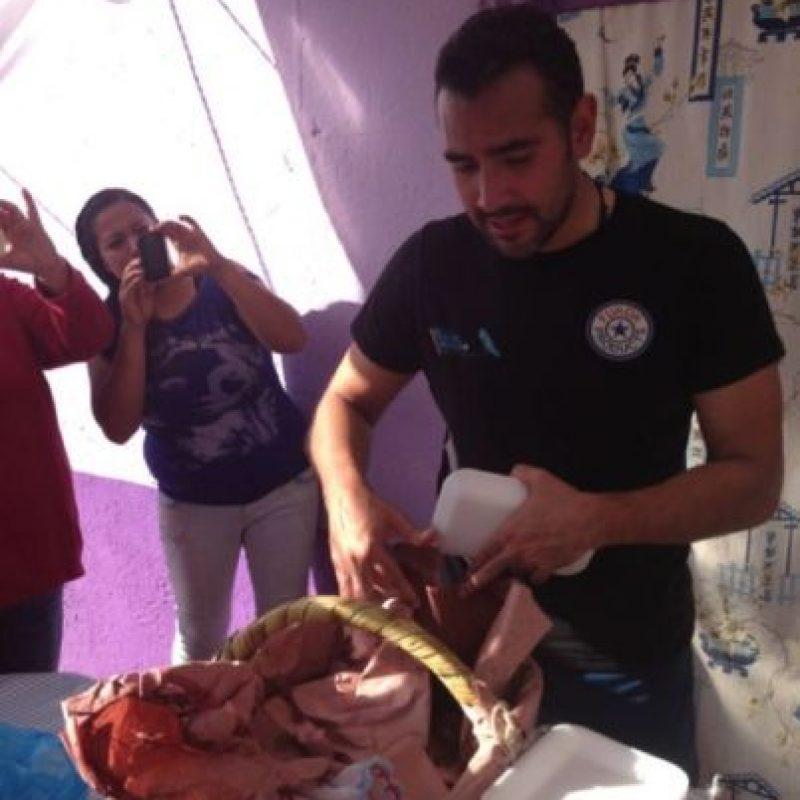 También pagaba sus apuestas. Foto:facebook.com/pages/Hugo-Sanchez-Portugal