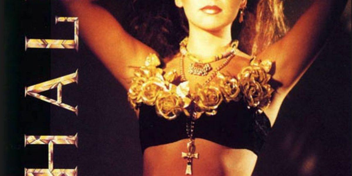 FOTOS: 14 años de música de Thalía en las portadas de sus álbumes