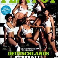 Integrantes de la Selección Alemana Sub-20 Se desnudaron para PlayBoy con el fin de promocionar el Mundial de la especialidad de 2011. Foto:PlayBoy