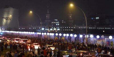 Parte de las celebraciones en Alemania Foto:AFP
