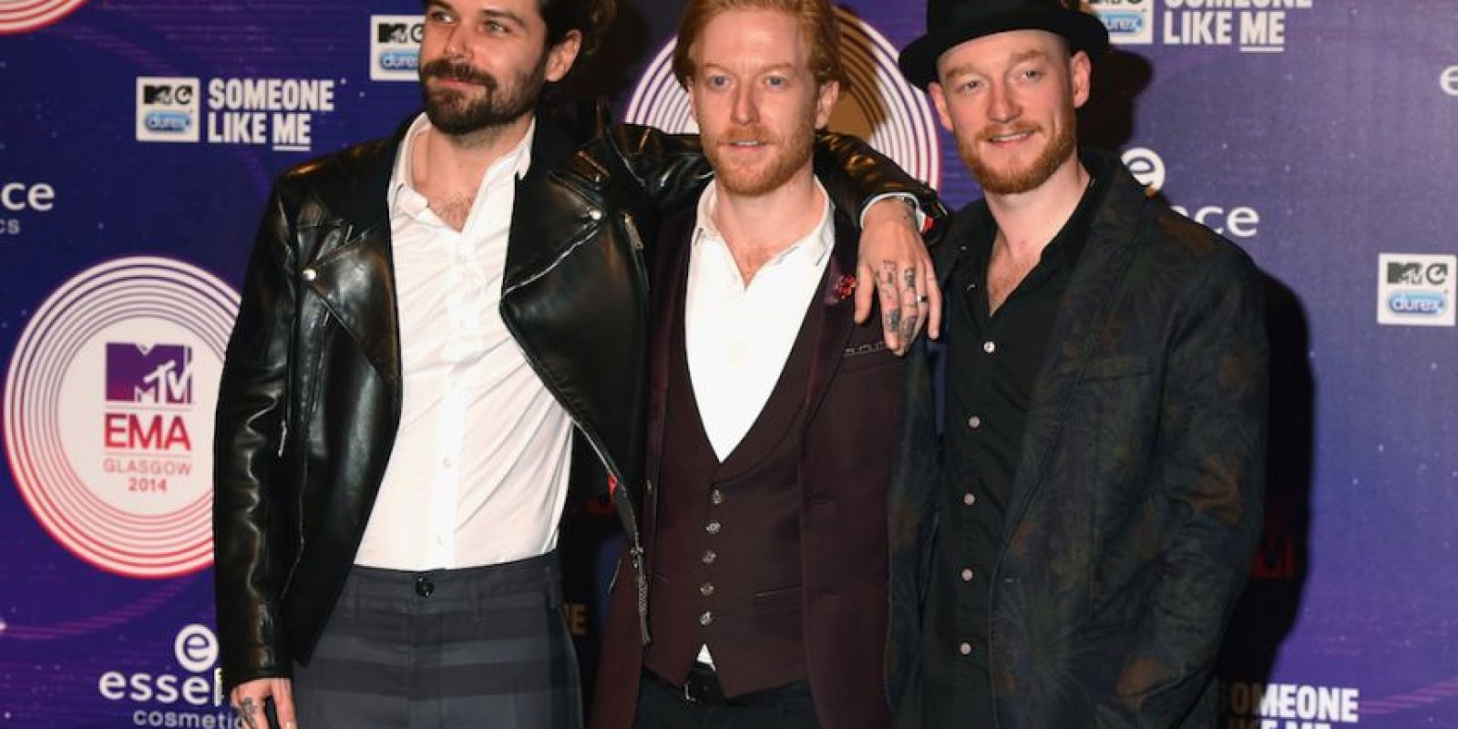 Simon Neil, Ben Johnston y James Johnston Foto: Getty Images