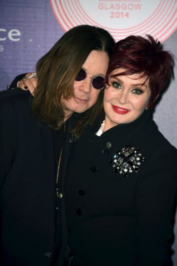 Ozzy Osbourne y Sharon Osbourne Foto: Getty Images