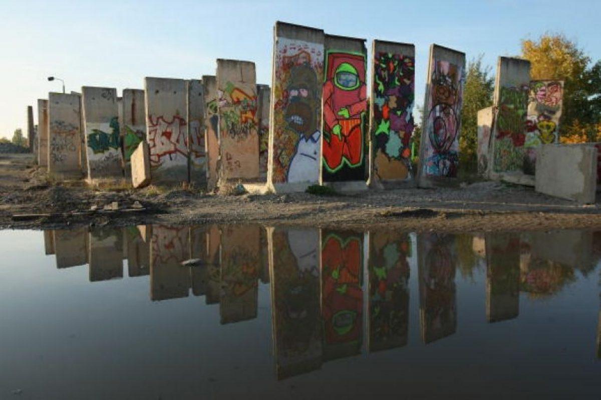 9 de noviembre: Cae el Muro de Berlín Foto:Getty Images