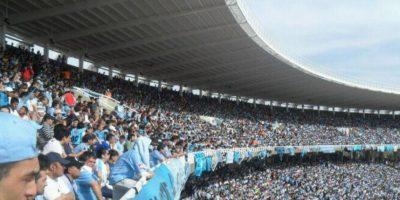 Así se ven las tribunas del estadio de Belgrano. Foto:Google Maps