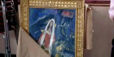 """La Mariée"" de Marc Chagall en Notting Hill de 1999. Foto:Universal Pictures"