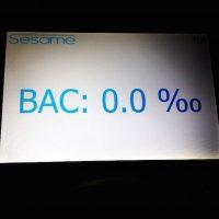 El test de alcohol que les permite pasar Foto:Instagram qtaltu