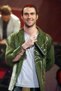 Adam Levine, cuando apenas comenzaba con Maroon 5 Foto:Getty Images