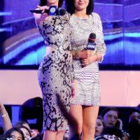 Los cantantes John Legend y Pharrell Williams y la estrella del pop Katy Perry lograron cinco nominaciones Foto:Getty Images