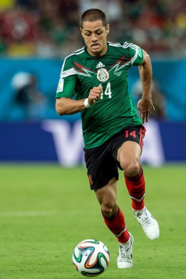 "Javier ""Chicharito"" Hernández (México) Foto: Getty Images"