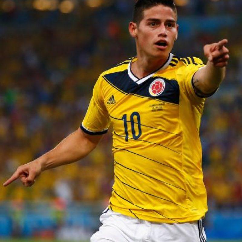 James Rodríguez (Colombia) Foto:Getty Images