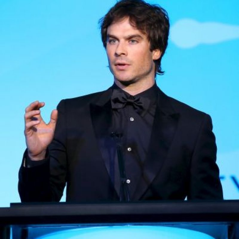 "Ahora lo aman por ""The Vampire Diaries"" Foto: Getty Images"