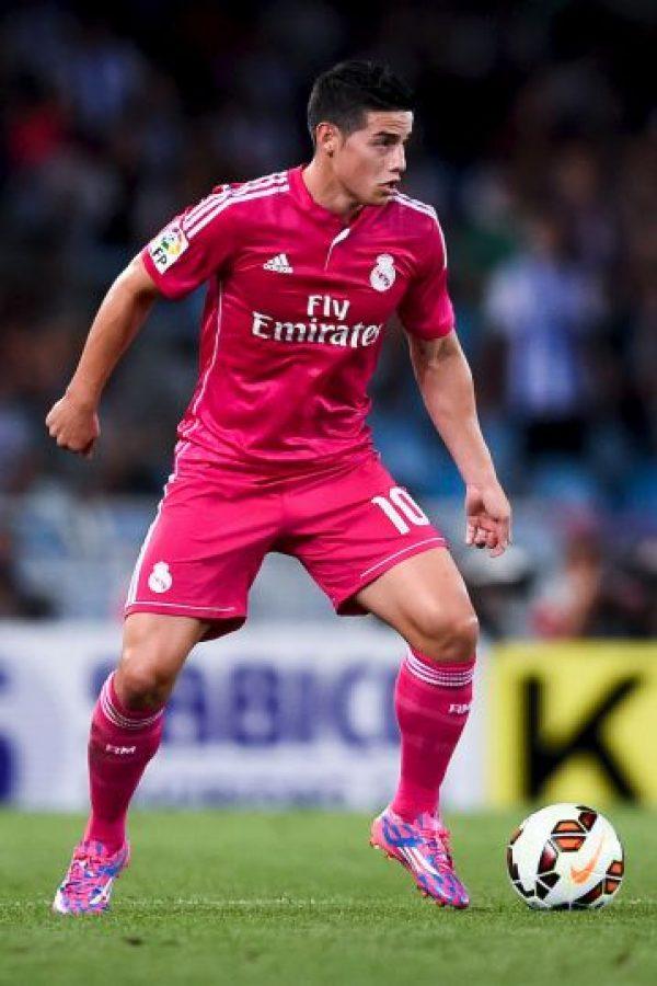 James frente a la Real Sociedad. Foto:Getty Images