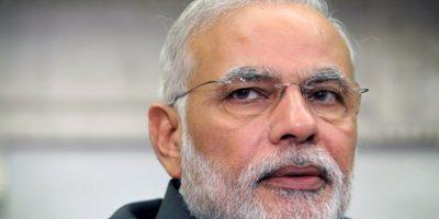 Narendra Modi, desde el 26 de mayo de 2014 es el primer ministro de India. Foto:Getty Images