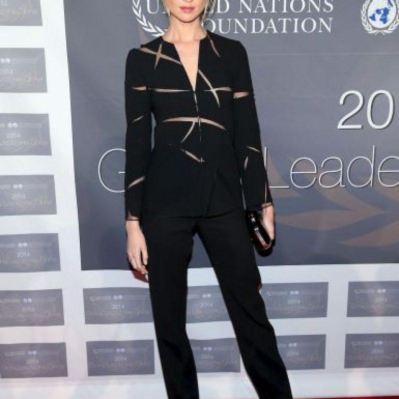 Ahora es la esposa de Adam Levine, vocalista de Maroon 5. Foto:Getty Images