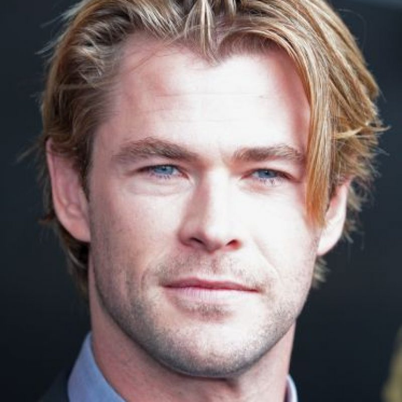 """Ahora es un galán del cine internacional, famoso por """"Thor"""" Foto:Getty Images"""