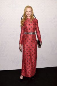 Nicole Kidman hizo lo mismo en 2001. Foto:Getty Images