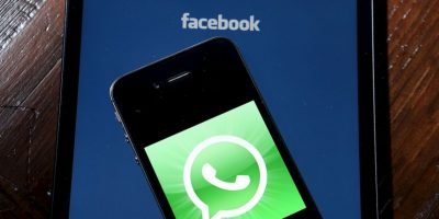 Facebook compró por 19 mil millones de dólares por WhatsApp en febrero de este año Foto:Getty Images