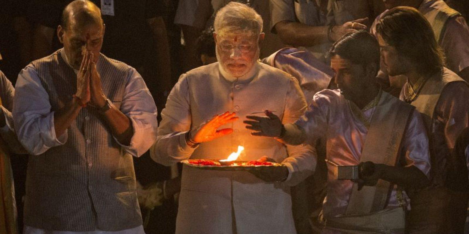 Según palabras de Modi, la India es el país más joven del mundo con una cultura muy antigua. Foto:Getty Images