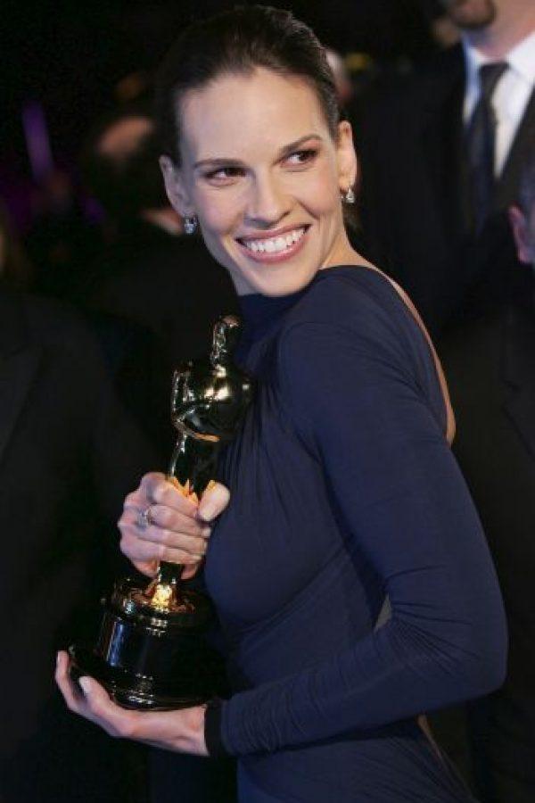 """En 2005 lo volvió a conseguir por su papel en """"Million Dollar Baby"""" Foto:Getty Images"""