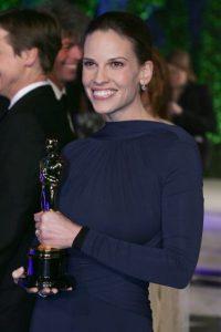 Hilary Swank ha tenido dos transformaciones que le han dado dos premios Oscar a Mejor Actriz Foto:Getty Images