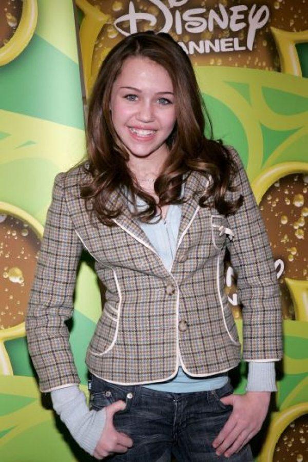"""Miley Cyrus, en su época de """"Hannah Montana"""" Foto:Getty Images"""