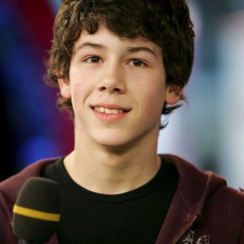 """Nick Jonas era el baterista de los """"Jonas Brothers"""" en el 2005 Foto:Getty Images"""