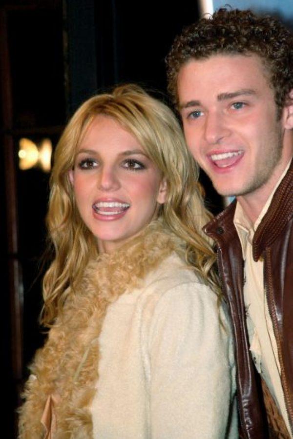 Justin Timberlake, cuando era novio de Britney Spears Foto:Getty Images