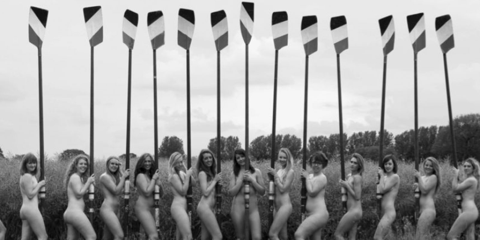 Estas son algunas de las imágenes del calendario Foto:Warwick Rowing's Women's Naked Calendar