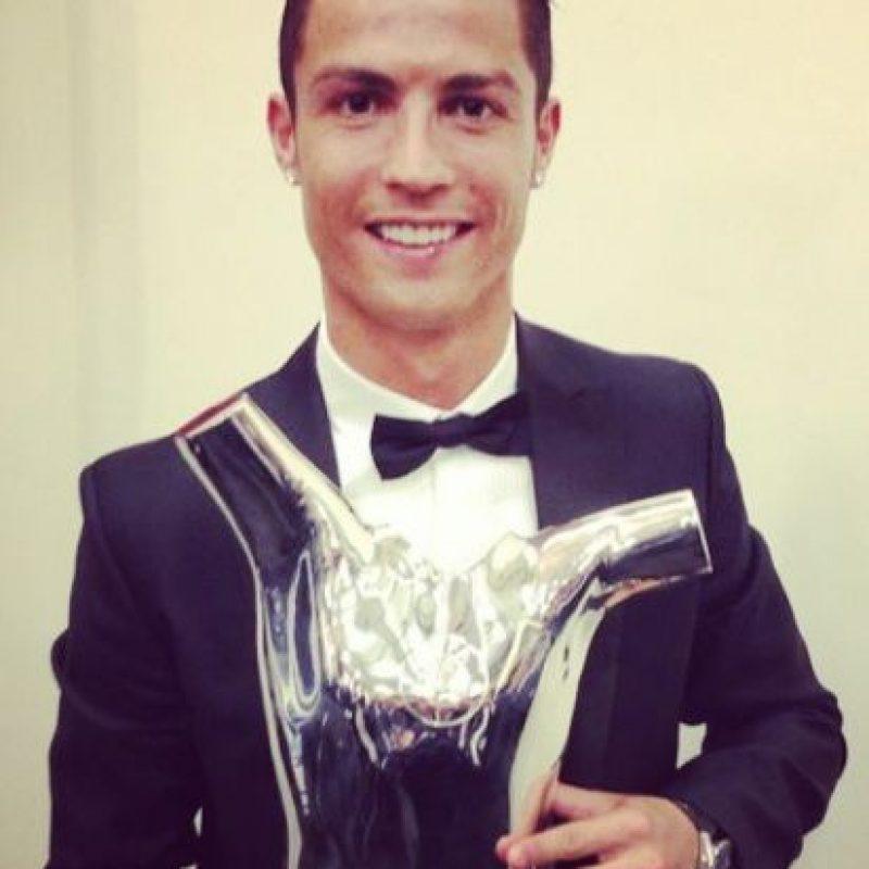 Mejor jugador europeo de la UEFA. Foto:¡nstagram.com/cristiano