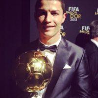 Balón de Oro de la FIFA como el mejor jugador del mundo. Foto:¡nstagram.com/cristiano