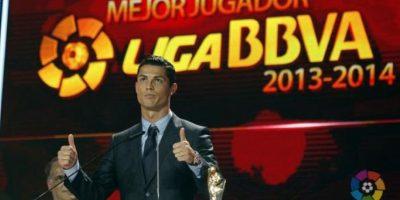Mejor jugador de la Liga BBVA 2013-2014. Foto:twitter.com/LaLiga