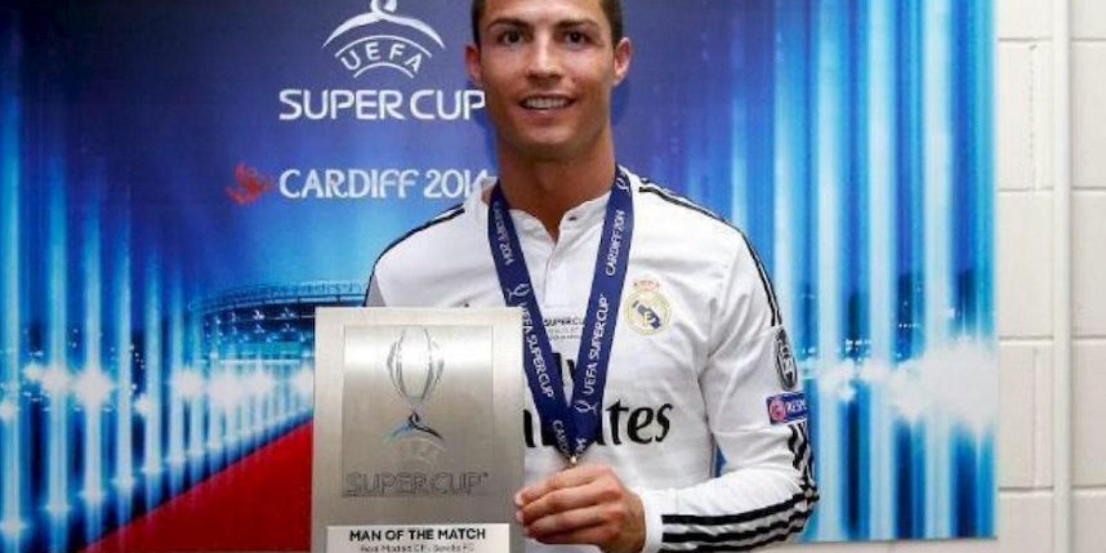 Jugador del partido de la Supercopa de la UEFA. Foto:twitter.com/realmadrid