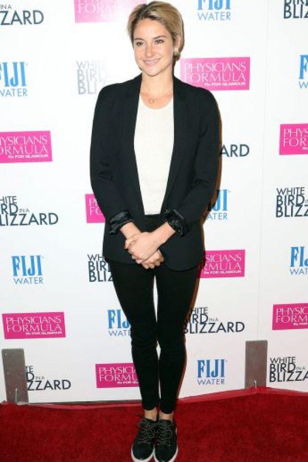 Shailene Woodley hoy (22 años) Foto:Getty
