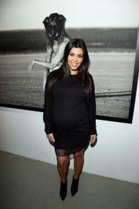 Kourtney Kardashian hoy (35 años) Foto:Getty