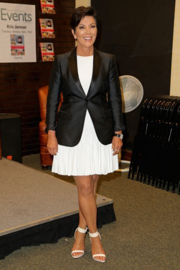 Kris Jenner hoy (59 años) Foto:Getty