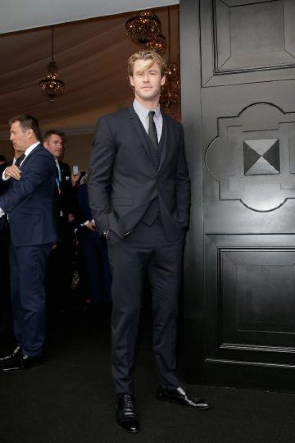 Chris Hemsworth hoy (31 años) Foto:Getty