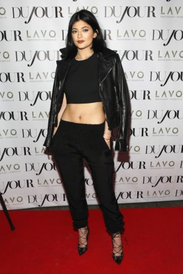 Kylie Jenner hoy (17 años) Foto: Getty