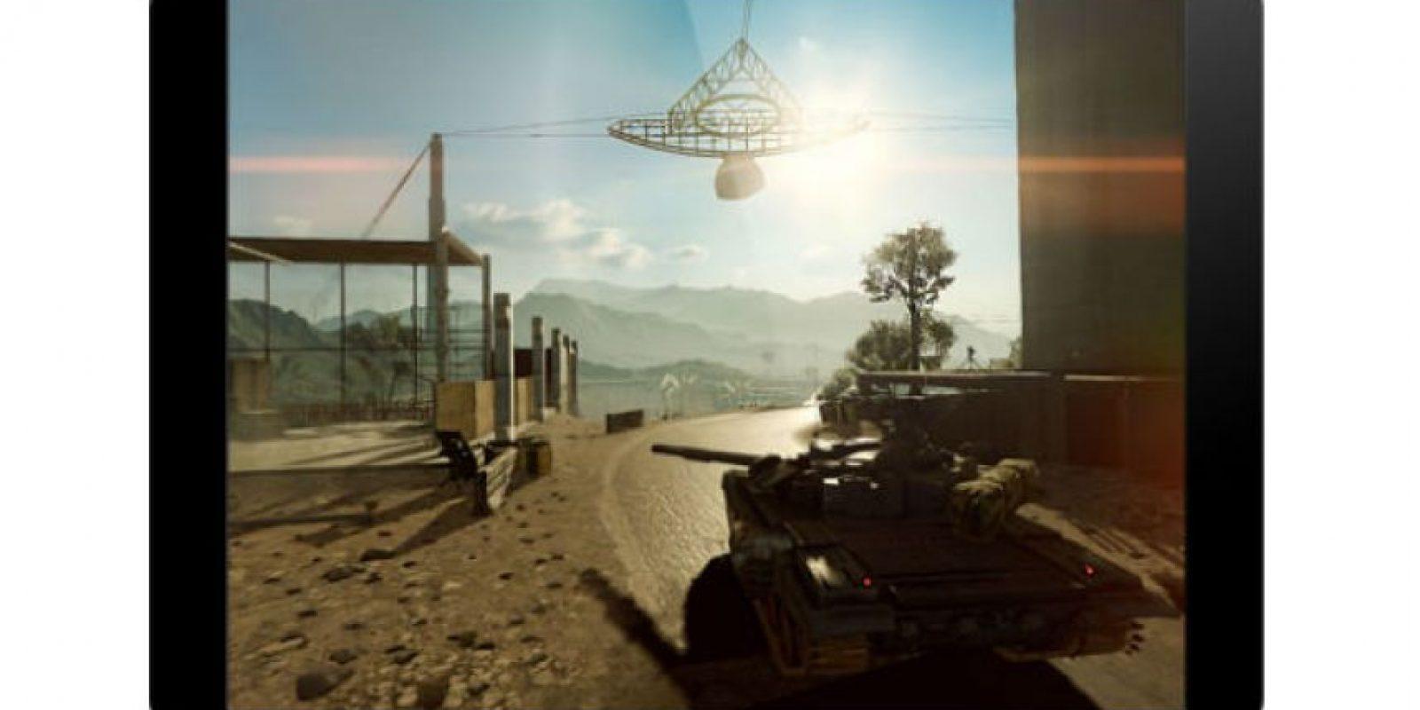 """Las pruebas de Frosbite con """"Battlefield 4"""" en el iPad. Foto:Frostbite"""